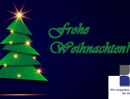 """LV Lohnverpackung wünscht """"Frohe Weihnachten""""!"""